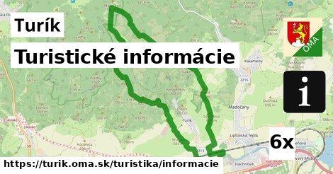 ilustračný obrázok k Turistické informácie, Turík