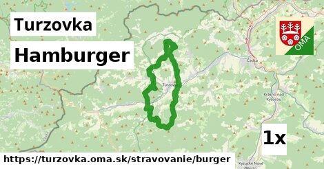hamburger v Turzovka