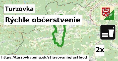 rýchle občerstvenie v Turzovka