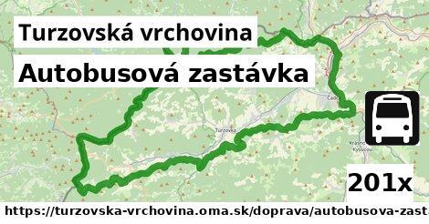 ilustračný obrázok k Autobusová zastávka, Turzovská vrchovina