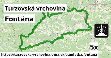 ilustračný obrázok k Fontána, Turzovská vrchovina