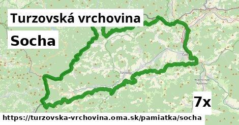 ilustračný obrázok k Socha, Turzovská vrchovina