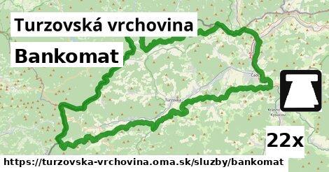 ilustračný obrázok k Bankomat, Turzovská vrchovina