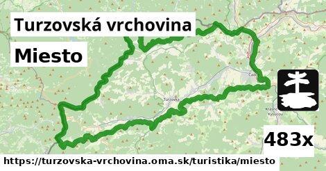 ilustračný obrázok k Miesto, Turzovská vrchovina