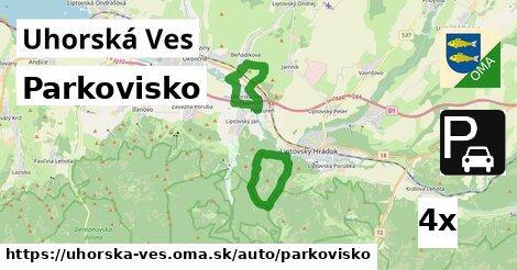 ilustračný obrázok k Parkovisko, Uhorská Ves
