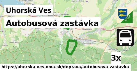 ilustračný obrázok k Autobusová zastávka, Uhorská Ves