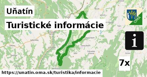 turistické informácie v Uňatín