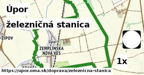 ilustračný obrázok k železničná stanica, Úpor