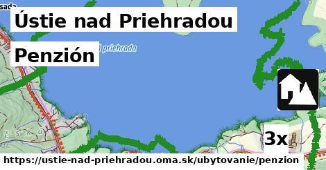 penzión v Ústie nad Priehradou