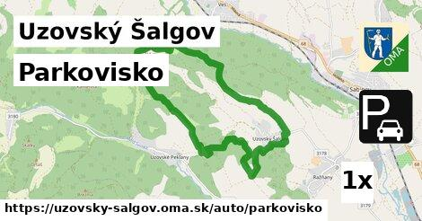 ilustračný obrázok k Parkovisko, Uzovský Šalgov
