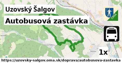 ilustračný obrázok k Autobusová zastávka, Uzovský Šalgov
