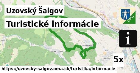 ilustračný obrázok k Turistické informácie, Uzovský Šalgov