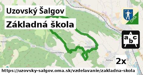 ilustračný obrázok k Základná škola, Uzovský Šalgov