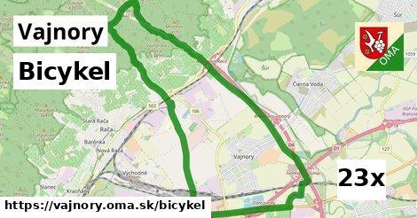 bicykel v Vajnory