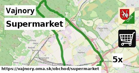 Supermarket, Vajnory