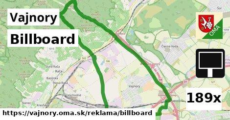 billboard v Vajnory