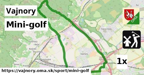 Mini-golf, Vajnory