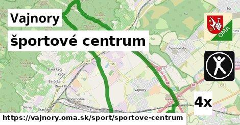 športové centrum, Vajnory