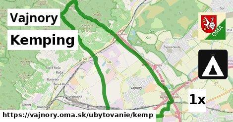 Kemping, Vajnory
