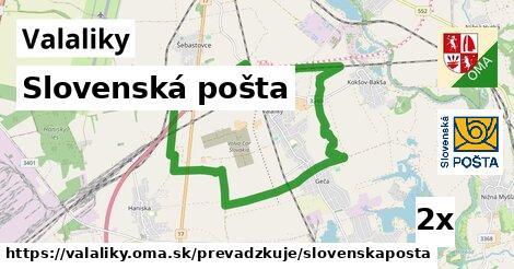 Slovenská pošta v Valaliky