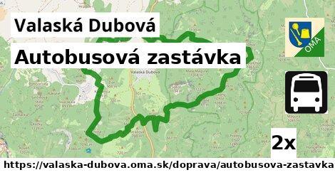 ilustračný obrázok k Autobusová zastávka, Valaská Dubová