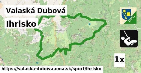 ilustračný obrázok k Ihrisko, Valaská Dubová
