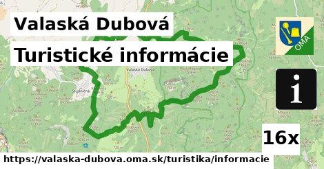 ilustračný obrázok k Turistické informácie, Valaská Dubová