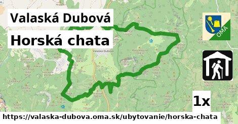 ilustračný obrázok k Horská chata, Valaská Dubová