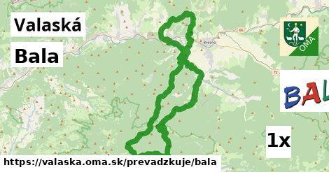 ilustračný obrázok k Bala, Valaská