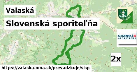 ilustračný obrázok k Slovenská sporiteľňa, Valaská