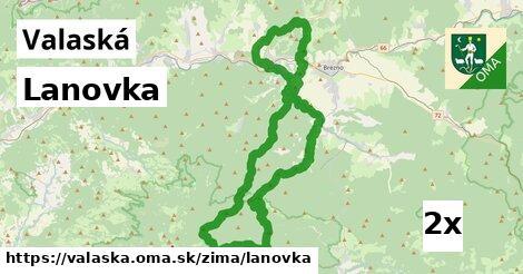 ilustračný obrázok k Lanovka, Valaská