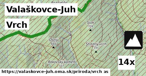 ilustračný obrázok k Vrch, Valaškovce-Juh