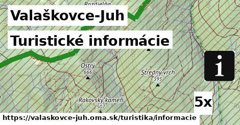 ilustračný obrázok k Turistické informácie, Valaškovce-Juh