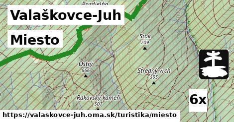 ilustračný obrázok k Miesto, Valaškovce-Juh
