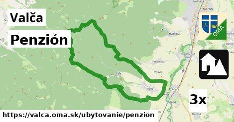 ilustračný obrázok k Penzión, Valča