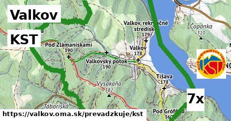 KST v Valkov
