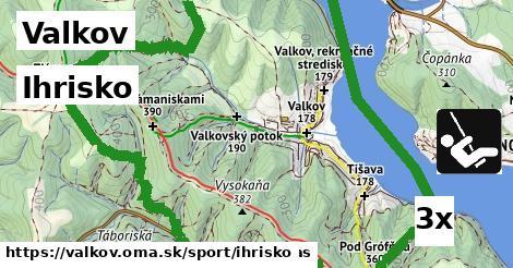 ihrisko v Valkov