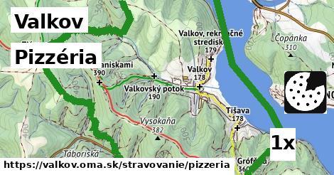 pizzéria v Valkov