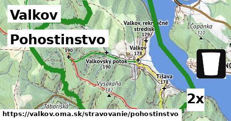 pohostinstvo v Valkov