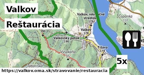 ilustračný obrázok k Reštaurácia, Valkov