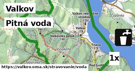 pitná voda v Valkov