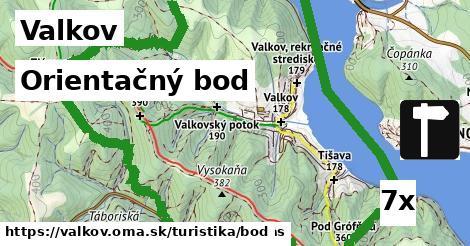 orientačný bod v Valkov