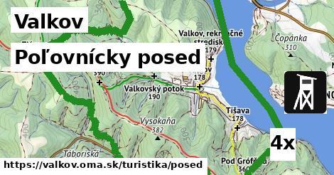 poľovnícky posed v Valkov