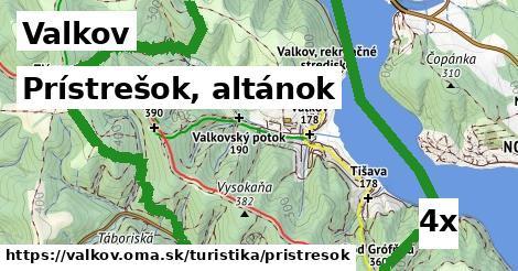 prístrešok, altánok v Valkov