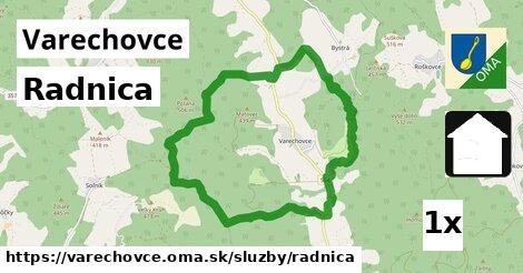 ilustračný obrázok k Radnica, Varechovce
