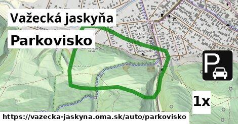 ilustračný obrázok k Parkovisko, Važecká jaskyňa