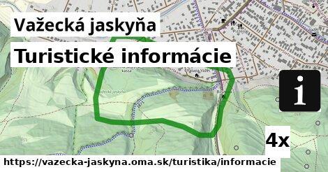 ilustračný obrázok k Turistické informácie, Važecká jaskyňa