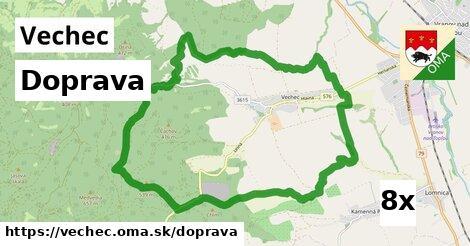 doprava v Vechec