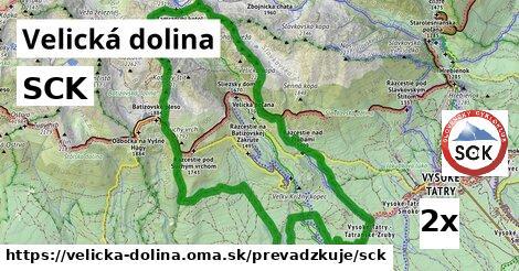 SCK v Velická dolina