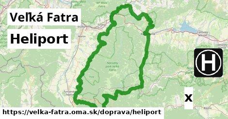 ilustračný obrázok k Heliport, Veľká Fatra